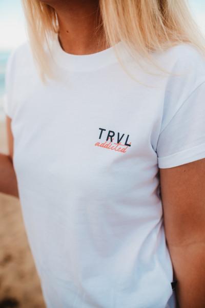 Santorini - T-Shirt weiß