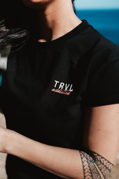 Santorini - T-Shirt schwarz